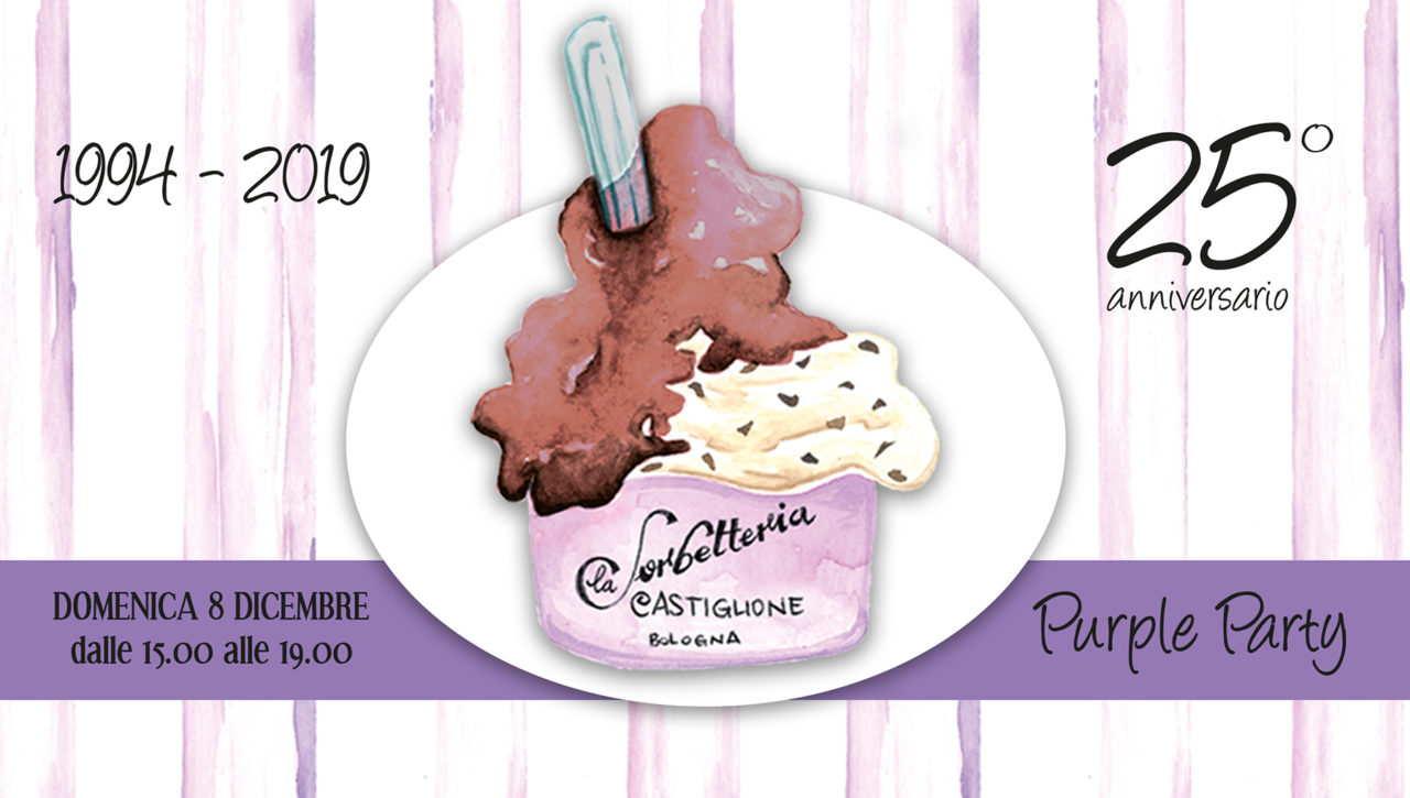 Sorbetteria Castiglione Purple Party